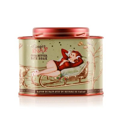 GINGER SNAP - Bath Soak Tin -Barefoot Venus