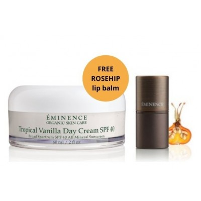 Tropical Vanilla Day Cream SPF 40 - Eminence