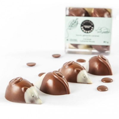CARAMEL GANACHE MICE - milk Chocolate - Couleur Chocolat