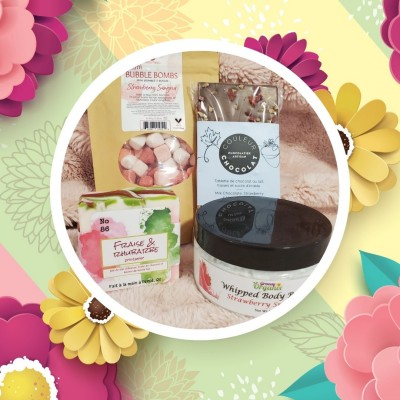 GIFT BOX -  Strawberry Sangria-  Mother's Day