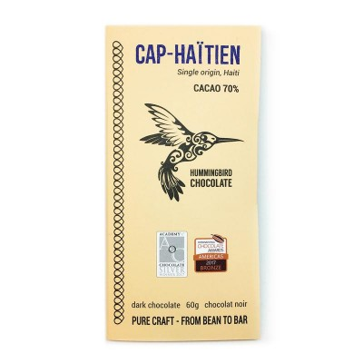 CAP-HAITIEN 70% - HUMMINGBIRD chocolate