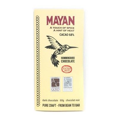 MAYAN 68% - Extra Hot - HUMMINGBIRD chocolate