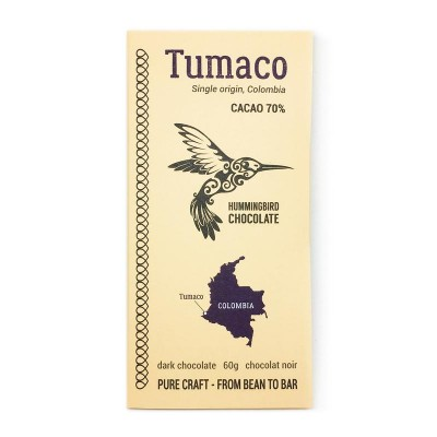 TUMACO 70% -  HUMMINGBIRD chocolate