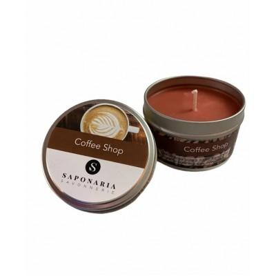 Soy Candle - COFFEE SHOP - Saponaria