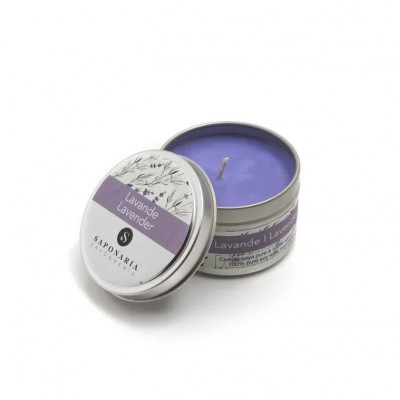 Soy Candle - LAVENDER - Saponaria